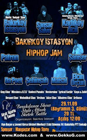 B.İstasyon Hiphop Jam Vol 3