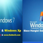 Windows 7 mi & Xp mi ?