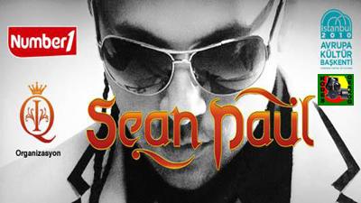 Sean paul istanbul konseri