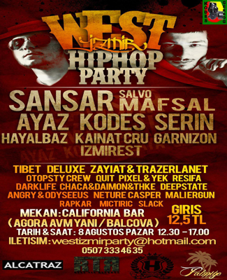 West İzmir Hiphop Party