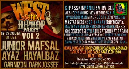 West İzmir hiphop party vol 2